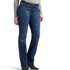 Lee Modern Fit Curvy Straight Leg Jeans